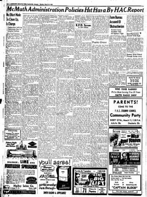 Northwest Arkansas Times from Fayetteville, Arkansas on March 10, 1952 · Page 10