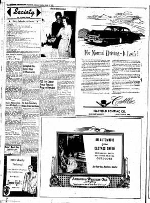 Northwest Arkansas Times from Fayetteville, Arkansas on March 11, 1952 · Page 2