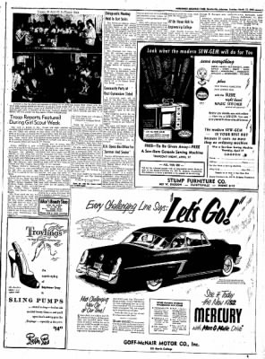 Northwest Arkansas Times from Fayetteville, Arkansas on March 11, 1952 · Page 3