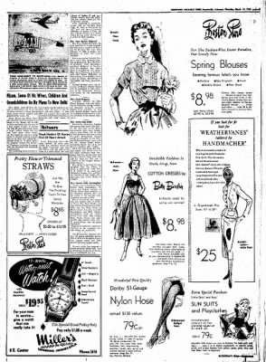 Northwest Arkansas Times from Fayetteville, Arkansas on March 13, 1952 · Page 3
