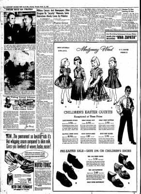 Northwest Arkansas Times from Fayetteville, Arkansas on March 13, 1952 · Page 6