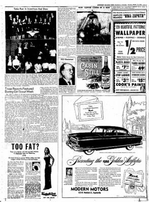Northwest Arkansas Times from Fayetteville, Arkansas on March 13, 1952 · Page 7