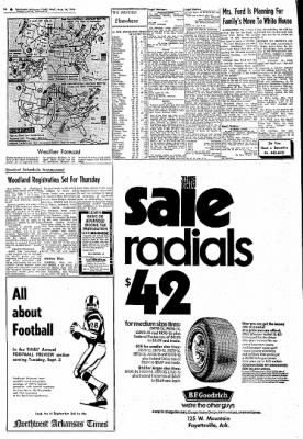 Northwest Arkansas Times from Fayetteville, Arkansas on August 14, 1974 · Page 23