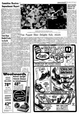 Northwest Arkansas Times from Fayetteville, Arkansas on August 15, 1974 · Page 5