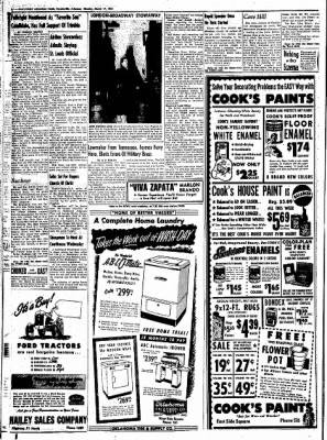 Northwest Arkansas Times from Fayetteville, Arkansas on March 17, 1952 · Page 8