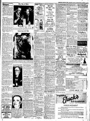 Northwest Arkansas Times from Fayetteville, Arkansas on March 17, 1952 · Page 11