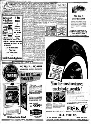 Northwest Arkansas Times from Fayetteville, Arkansas on March 18, 1952 · Page 6