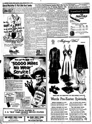 Northwest Arkansas Times from Fayetteville, Arkansas on March 19, 1952 · Page 6