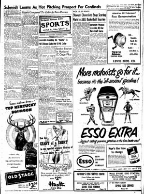 Northwest Arkansas Times from Fayetteville, Arkansas on March 19, 1952 · Page 9