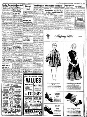 Northwest Arkansas Times from Fayetteville, Arkansas on March 20, 1952 · Page 7
