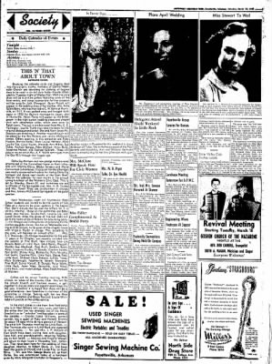 Northwest Arkansas Times from Fayetteville, Arkansas on March 22, 1952 · Page 3