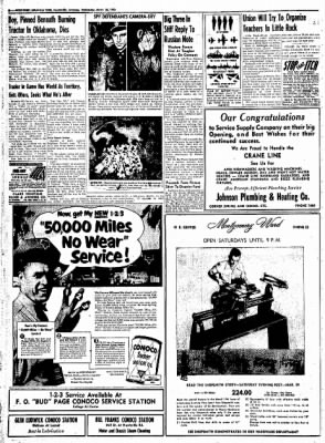 Northwest Arkansas Times from Fayetteville, Arkansas on March 26, 1952 · Page 6