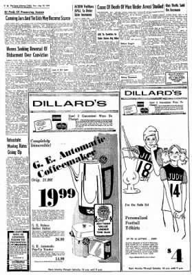 Northwest Arkansas Times from Fayetteville, Arkansas on August 20, 1974 · Page 6