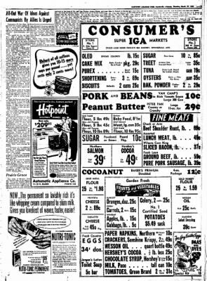 Northwest Arkansas Times from Fayetteville, Arkansas on March 27, 1952 · Page 11