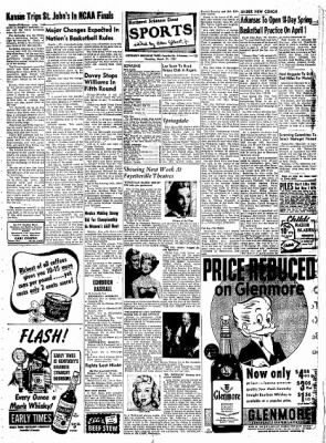 Northwest Arkansas Times from Fayetteville, Arkansas on March 27, 1952 · Page 13