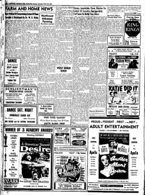 Northwest Arkansas Times from Fayetteville, Arkansas on March 29, 1952 · Page 10