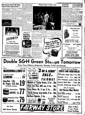 Northwest Arkansas Times from Fayetteville, Arkansas on April 1, 1952 · Page 7
