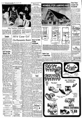 Northwest Arkansas Times from Fayetteville, Arkansas on August 22, 1974 · Page 2