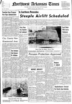 Northwest Arkansas Times from Fayetteville, Arkansas on August 23, 1974 · Page 1