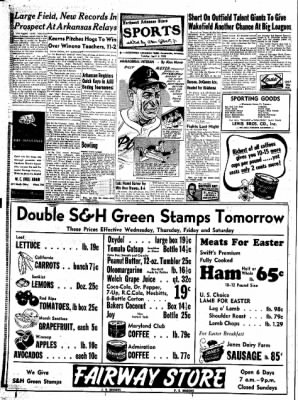 Northwest Arkansas Times from Fayetteville, Arkansas on April 8, 1952 · Page 8