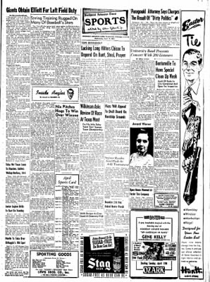 Northwest Arkansas Times from Fayetteville, Arkansas on April 9, 1952 · Page 9