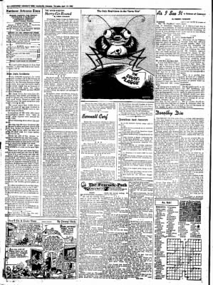 Northwest Arkansas Times from Fayetteville, Arkansas on April 10, 1952 · Page 4