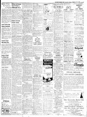 Northwest Arkansas Times from Fayetteville, Arkansas on April 14, 1952 · Page 11