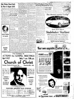 Northwest Arkansas Times from Fayetteville, Arkansas on April 15, 1952 · Page 7