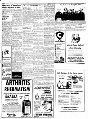 Northwest Arkansas Times from Fayetteville, Arkansas on April 15, 1952 · Page 8