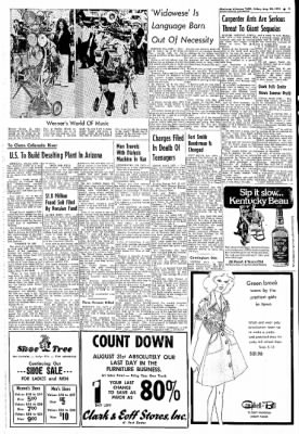 Northwest Arkansas Times from Fayetteville, Arkansas on August 30, 1974 · Page 3