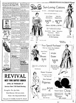 Northwest Arkansas Times from Fayetteville, Arkansas on April 17, 1952 · Page 3