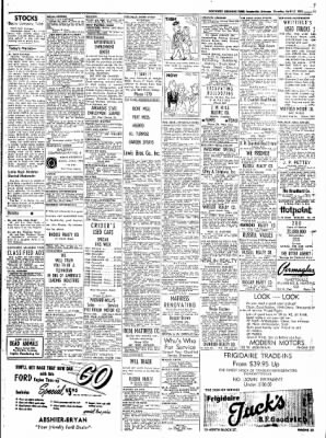 Northwest Arkansas Times from Fayetteville, Arkansas on April 17, 1952 · Page 15
