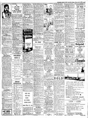 Northwest Arkansas Times from Fayetteville, Arkansas on April 18, 1952 · Page 9