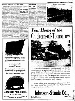 Northwest Arkansas Times from Fayetteville, Arkansas on April 18, 1952 · Page 15