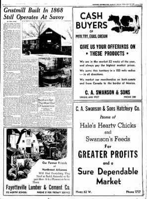 Northwest Arkansas Times from Fayetteville, Arkansas on April 18, 1952 · Page 17