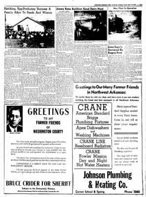 Northwest Arkansas Times from Fayetteville, Arkansas on April 18, 1952 · Page 23