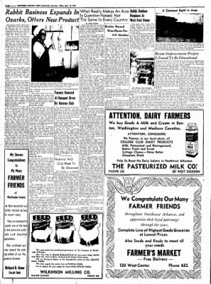 Northwest Arkansas Times from Fayetteville, Arkansas on April 18, 1952 · Page 24