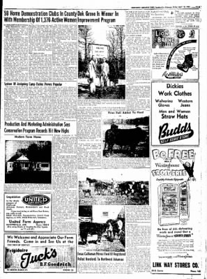 Northwest Arkansas Times from Fayetteville, Arkansas on April 18, 1952 · Page 25