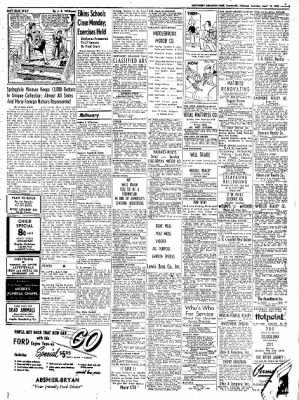 Northwest Arkansas Times from Fayetteville, Arkansas on April 19, 1952 · Page 19