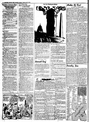 Northwest Arkansas Times from Fayetteville, Arkansas on April 22, 1952 · Page 4
