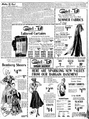 Northwest Arkansas Times from Fayetteville, Arkansas on April 24, 1952 · Page 5