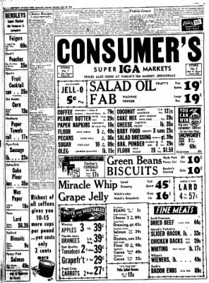 Northwest Arkansas Times from Fayetteville, Arkansas on April 24, 1952 · Page 8