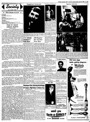Northwest Arkansas Times from Fayetteville, Arkansas on April 26, 1952 · Page 3