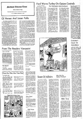 Northwest Arkansas Times from Fayetteville, Arkansas on September 10, 1974 · Page 4
