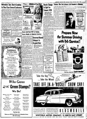 Northwest Arkansas Times from Fayetteville, Arkansas on May 7, 1952 · Page 5