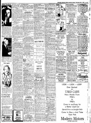 Northwest Arkansas Times from Fayetteville, Arkansas on May 7, 1952 · Page 11