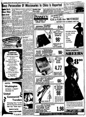 Northwest Arkansas Times from Fayetteville, Arkansas on May 8, 1952 · Page 6
