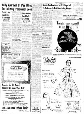 Northwest Arkansas Times from Fayetteville, Arkansas on May 9, 1952 · Page 3