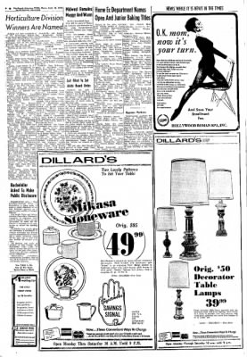 Northwest Arkansas Times from Fayetteville, Arkansas on September 12, 1974 · Page 6