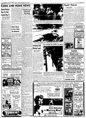 Northwest Arkansas Times from Fayetteville, Arkansas on May 10, 1952 · Page 10
